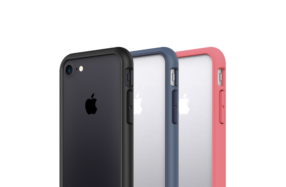 3 coques bumper pour iPhone 7